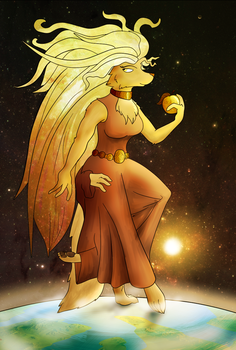 Eris, Goddess of Chaos by CaptainZepto