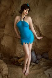 The Flintstones - Betty Rubble cosplay by ZyunkaMukhina