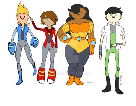 Bravest Warriors!! by Naomi-Bee
