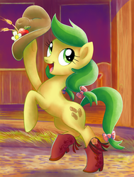 Apple Fritter by Adlynh