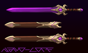 Sword Auction Adopt (closed) by Nano-Core