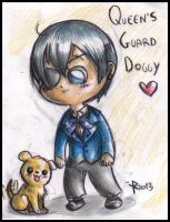 Ciel Phantomhive - the Queen's doggy by FuriarossaAndMimma
