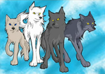 Tigerstar- The Dog Pack by Veritykit