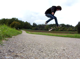fakie bigspin flip by cleverless