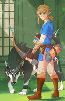 2 Links - BOTW by FaintSayu