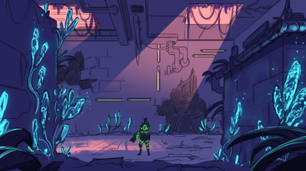 Interior - Game Project - Sketch by Colormate