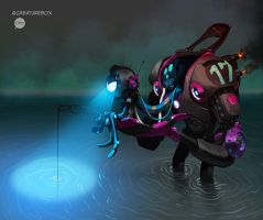 Gone Fishing by pacman23
