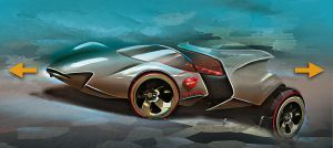 Hot Wheels 2012 Splitter concept by candyrod