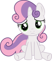 Sad Sweetie Belle by Racefox
