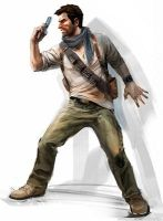 Uncharted 3 Nathan Drake by Cy689
