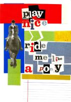 2nd Book - Ride me Like a Pony by sonasol