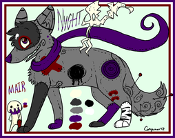 New Ref: Nyght and Mair by Kitsumon