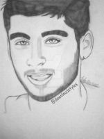 zayn malik~drawing by TeenagerAcid