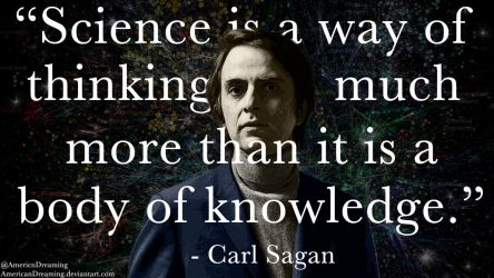 Carl Sagan on Science by AmericanDreaming