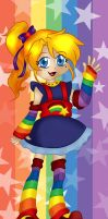 Rainbow Brite bookmark design by Hotaru-oz