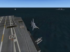 f 14 carrier flyby2 by cf33092