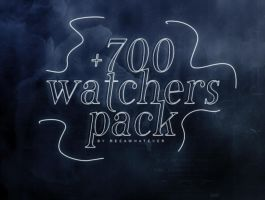 +700 WATCHERS PACK by reeawhatever