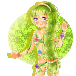 Wood Nymph by MelanyTyan