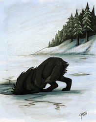 Thin Ice by InstantCoyote