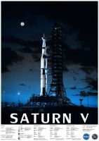Saturn V by nuke-vizard
