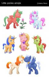 Mlp emojis by CristianoReina