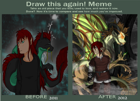 Scael: Before and After by Lozey