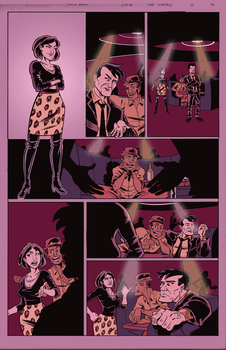 The Sundays #3 page 18 flat colors by ScottEwen