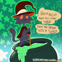 Witch Rhymes by Ropnolc