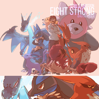 Eight Strong Team Commission by AutobotTesla