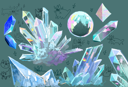Crystals by POLYCHAETE
