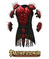 Pathfinder-Inner Sea Gods-Painspike Armour by Colin-Ashcroft