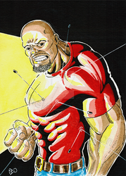 Luke Cage by thewisecarrot