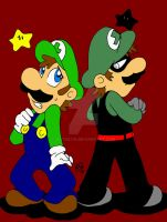 Welcome To The Dark Side Luigi by NatSilva