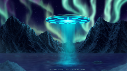 Visitors - Speed-painting by Enigmatic-Ki