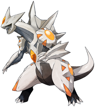 Dialga Palkia Fusion. [Pieces taken from Tomycase] by Tentalones