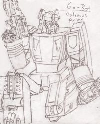 League of the Convoys: Gobot Optimus Prime by UnicronHound