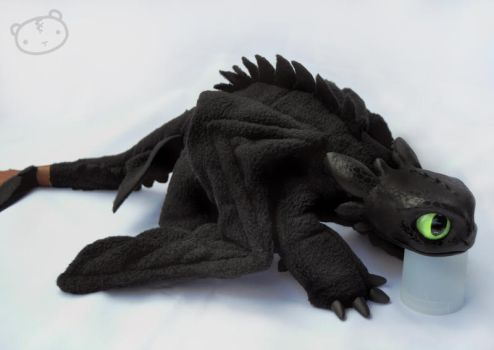 My little Toothless by LisaToms