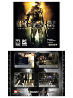 F.E.A.R. CD Case Cover by rthaut