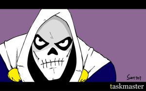 T is for Taskmaster by striffle