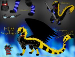 Megadragon HLM reference sheet -new 2015 updated- by BlackDragon-Studios