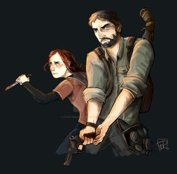 The Last of Us by FaustindeRavignan