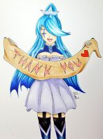 ~Thank you for 100 subscribers on YT ~ by CrystalMelody-FT