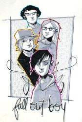 Fall Out Boy Markers by JeremyTreece