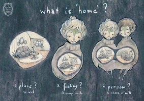What is 'home'? by anja-uhren