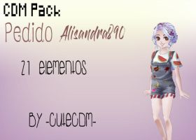 Pack Pedido Alysandra890 By -CuteCDM- by CuteCDM