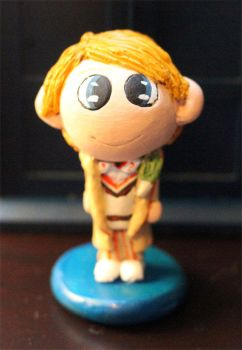 Chibi Fifth Doctor Figure by comicalclare