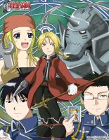 FMA - Just a group picture :P by raidenokreuz76