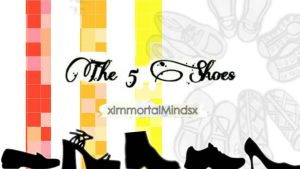 the 5 shoes logo by keelo15