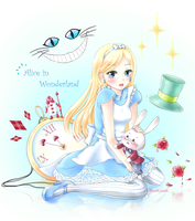 Alice In Wonderland by ShiraKyandii