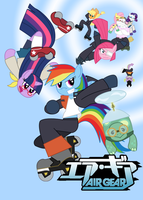 My Little ATs: Riding is Magic by Sonic-chaos